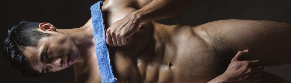 掃除夫筋肉